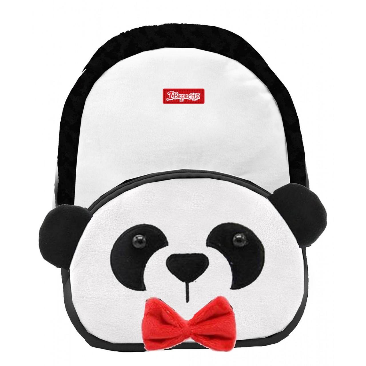 Рюкзак дошкільний 1Вересня K-42 Panda Білий (557984)