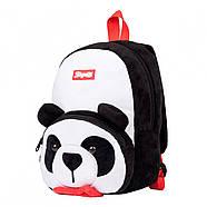 Рюкзак дошкільний 1Вересня K-42 Panda Білий (557984), фото 2
