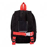 Рюкзак дошкільний 1Вересня K-42 Panda Білий (557984), фото 3
