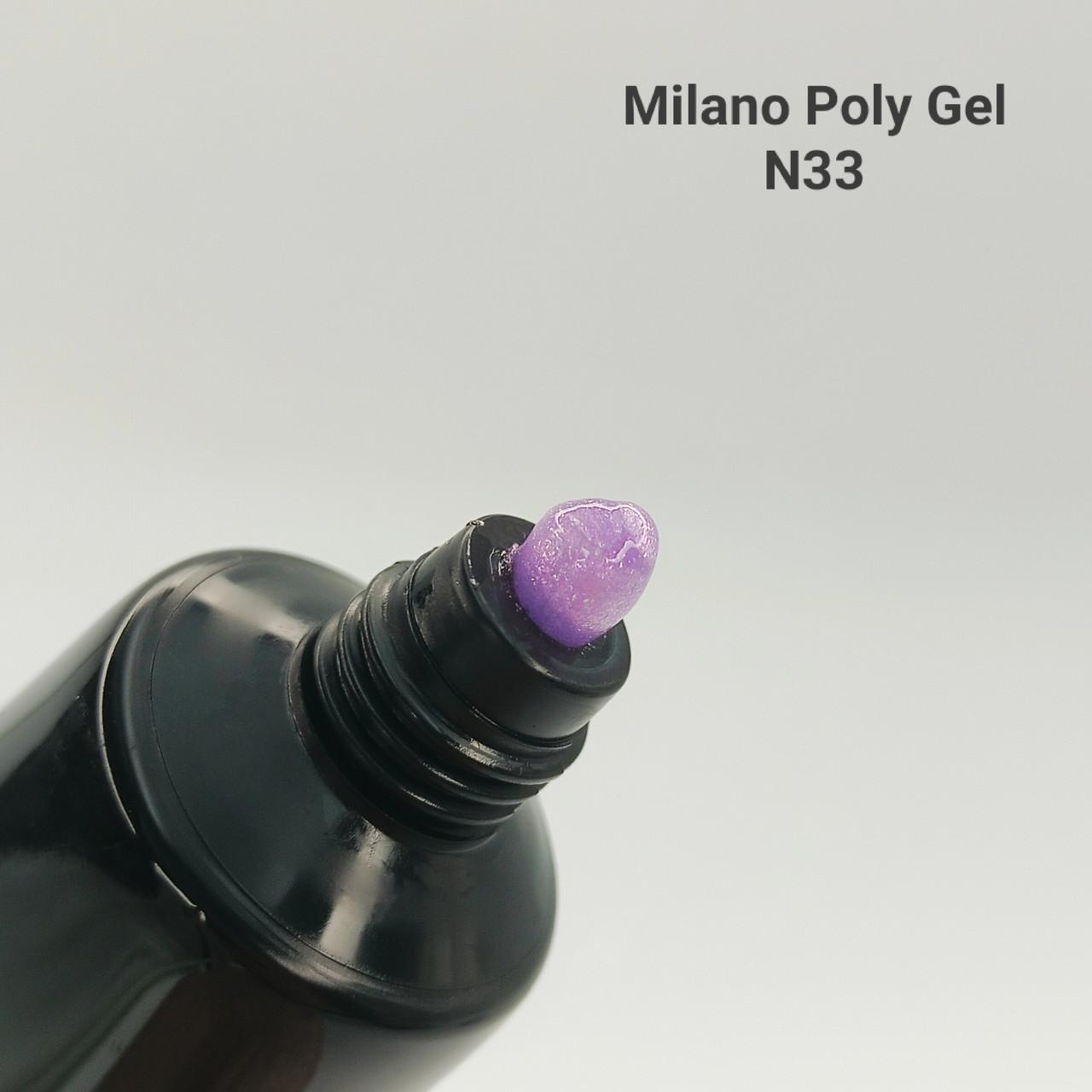 Акрил, гель Milano Neon № 33