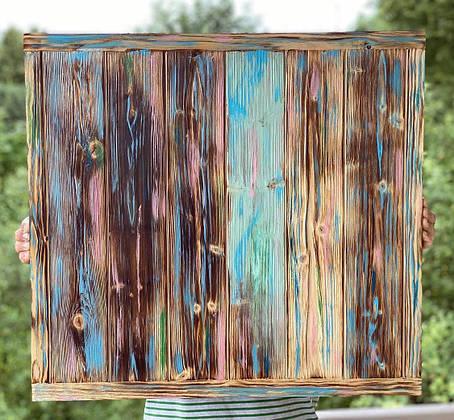Деревянный фотофон  Заборчик, фото 2