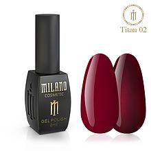 Гель лак Titan 8 мл № 02