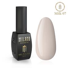 Гель лак Milk 8 мл № 07