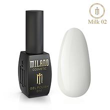 Гель лак Milk 8 мл № 02