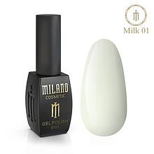 Гель лак Milk 8 мл № 01