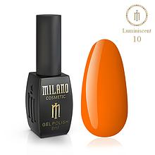 Гель лак Luminiscent Milano 8 мл № 10