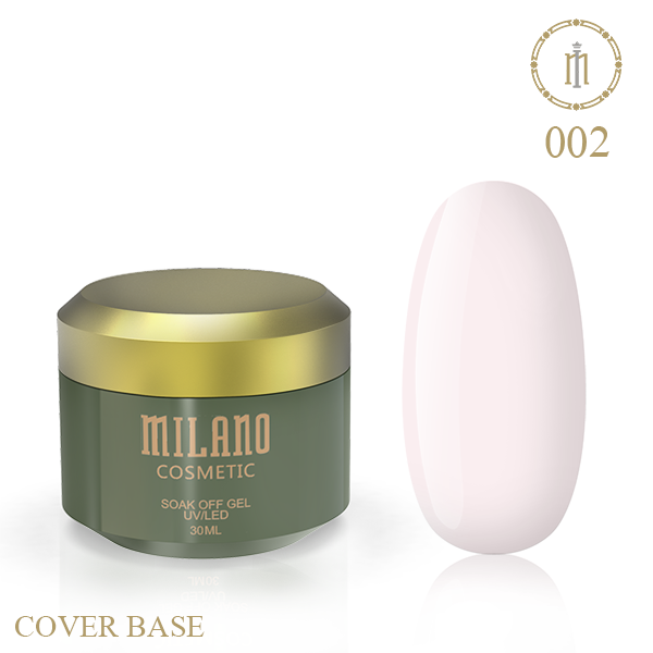 Цветная база Milano Luxury 30 мл № 02