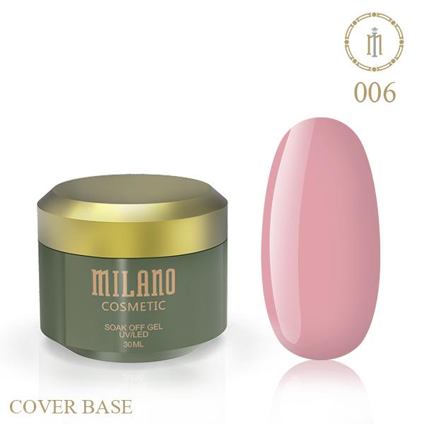 Цветная база Milano Luxury 30 мл № 06