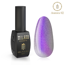Гель лак Aurora Milano 8 мл № 02