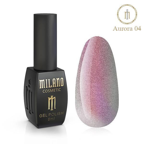 Гель лак Aurora Milano 8 мл № 04