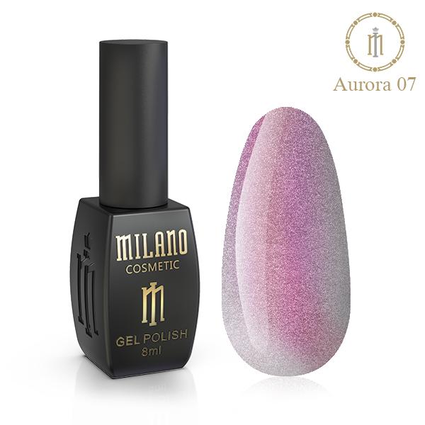 Гель лак Aurora Milano 8 мл № 07