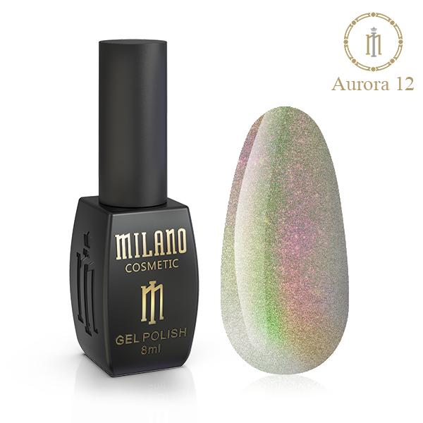Гель лак Aurora Milano 8 мл № 12