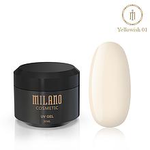 Гель для наращивания Milano Yellowish-1  30 мл