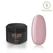 Гель для нарощування Milano Yellowish-2 20 мл