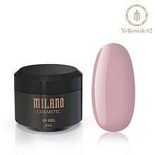 Гель для нарощування Milano Yellowish-2 30 мл