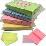 Безворсові кольорові серветки 1000 шт, фото 2
