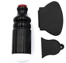 Набор для стемпинга ногтей черный