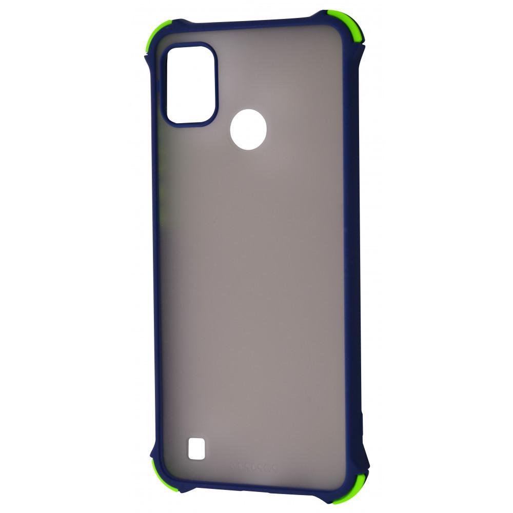 Shock Matte Case TECNO POP 4 PRO (BC3) dark blue