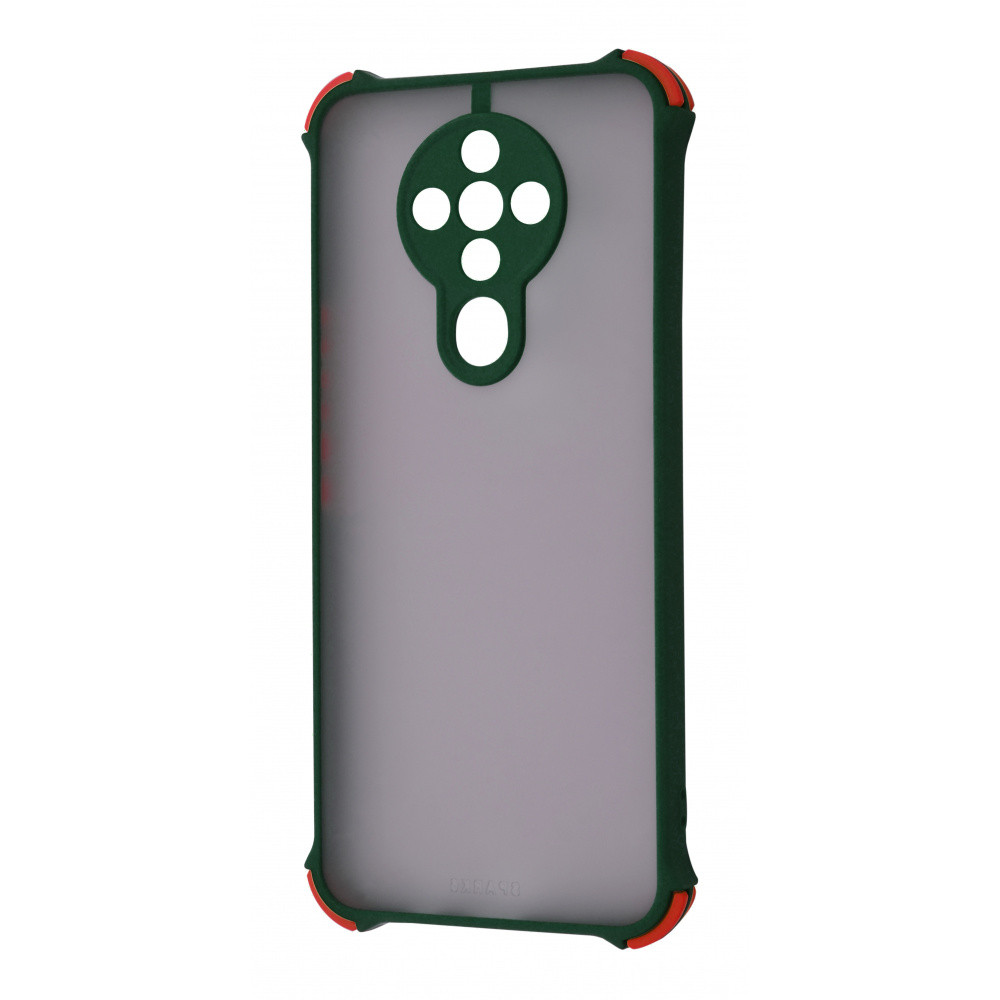 Shock Matte Case TECNO Spark 6 (KE7) green