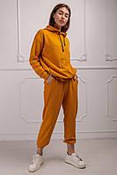 Спортивный костюм Пульс 46-48 размер горчица и черный цвет