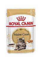 Royal Canin Maine Coon (шматочки в соусі) 85г*12шт-паучи для кішок породи мейн-кун