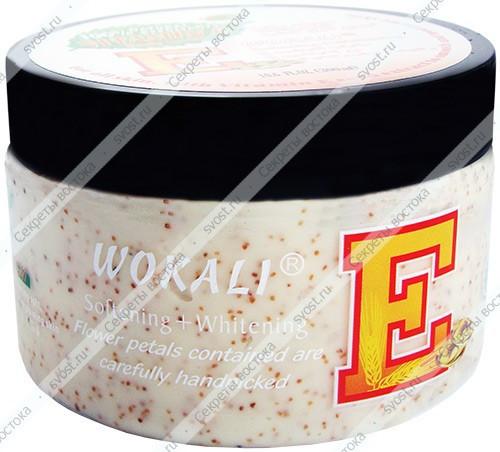 Крем-Скраб для тела Wokali с витамином Е, 300 ml