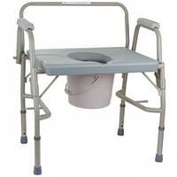 Посилений стілець-туалет OSD з відкидними підлокітниками OSD-BL740101, фото 1