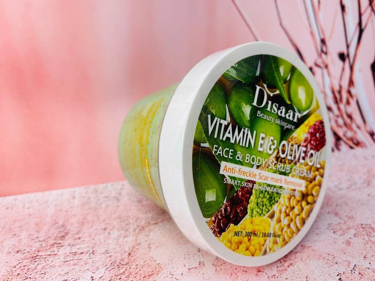 Скраб для тіла Wokali Charcoal Sherbet Body Scrub Вітамін Е і оливкове масло, 350 ml