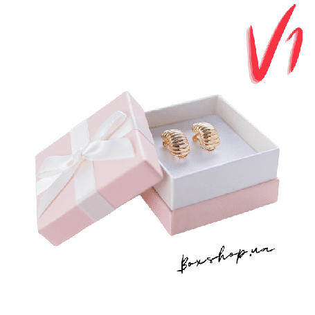 Коробочка для сережек Boxshop » Подарочные Коробки