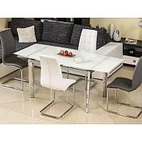 Стеклянный стол Signal GD-020 белый