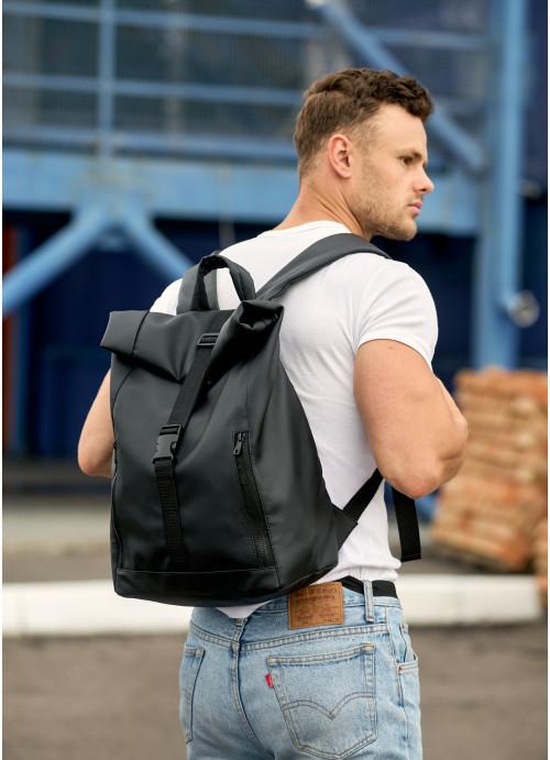 Чоловічий рюкзак рол Sambag RollTop LZT чорний