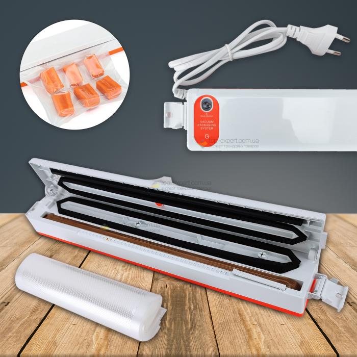 Вакууматор для продуктов Fresh Pack Pro вакуумный упаковщик для продуктов