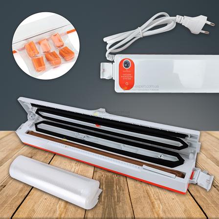 Вакууматор для продуктов Fresh Pack Pro вакуумный упаковщик для продуктов, фото 2