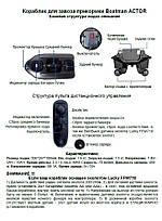 Короповий підгодовувальний кораблик ACTOR (базова версія) інструкція користувача