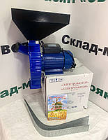 """Зернодробилка, дробилка для зерна """"Эликор 1"""" 1700 Вт, 2820 об/мин. до 170 кг."""