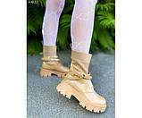 Ботинки с вязанной вставкой, фото 5