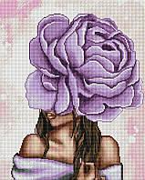 Фіолетовий півонія