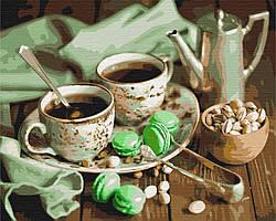 Картина за номерами малювання BS4346 М'ятна чаювання