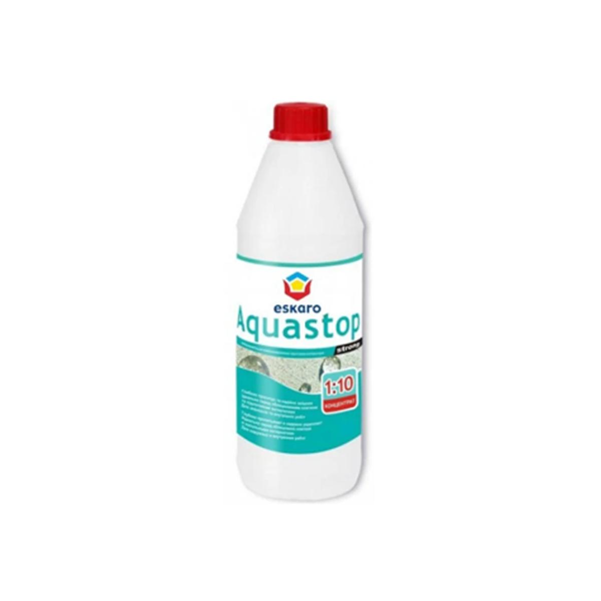 Укрепляющая грунтовка Eskaro Aquastop Strong 1л
