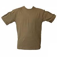 Футболка MIL-TEC тактическая T-Shirt CB, фото 1