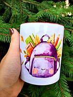 Чашка в школу именная с фото №2
