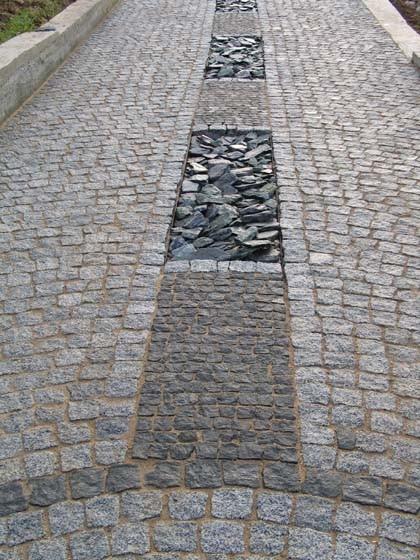 Гранитная брусчатка 042 - Мир камня в Днепре