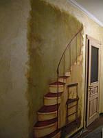 Фреска в интерьере, серия работ