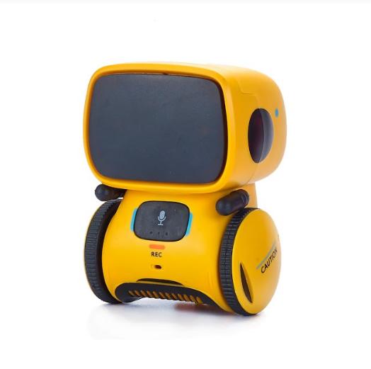 Интерактивный робот с голосовым управлением AT-ROBOT желтый