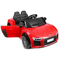 Дитячий електромобіль AUDI HL-1818 червоний, колеса EVA