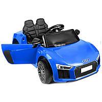 Дитячий електромобіль AUDI HL-1818 синій