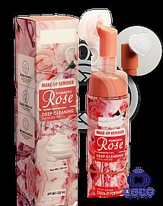 Пінка-мус для вмивання Make-Up Remover Romantic Rose з трояндою 150 мл