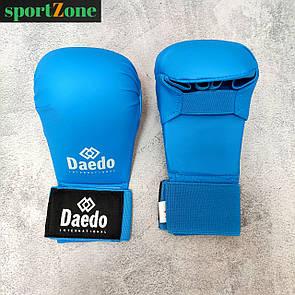 Перчатки для каратэ Daedo 5076, размер M, синий