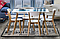Стол Обеденный MILAN Signal 120x80 Белый / Дуб, фото 4