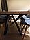Стіл розкладний CAPITAL Halmar 160х90, фото 8